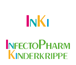 InfectoPharm Kinderkrippe Logo